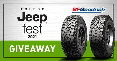 BF Goodrich Tire Giveaway