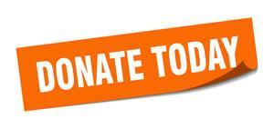 Donate Sticker