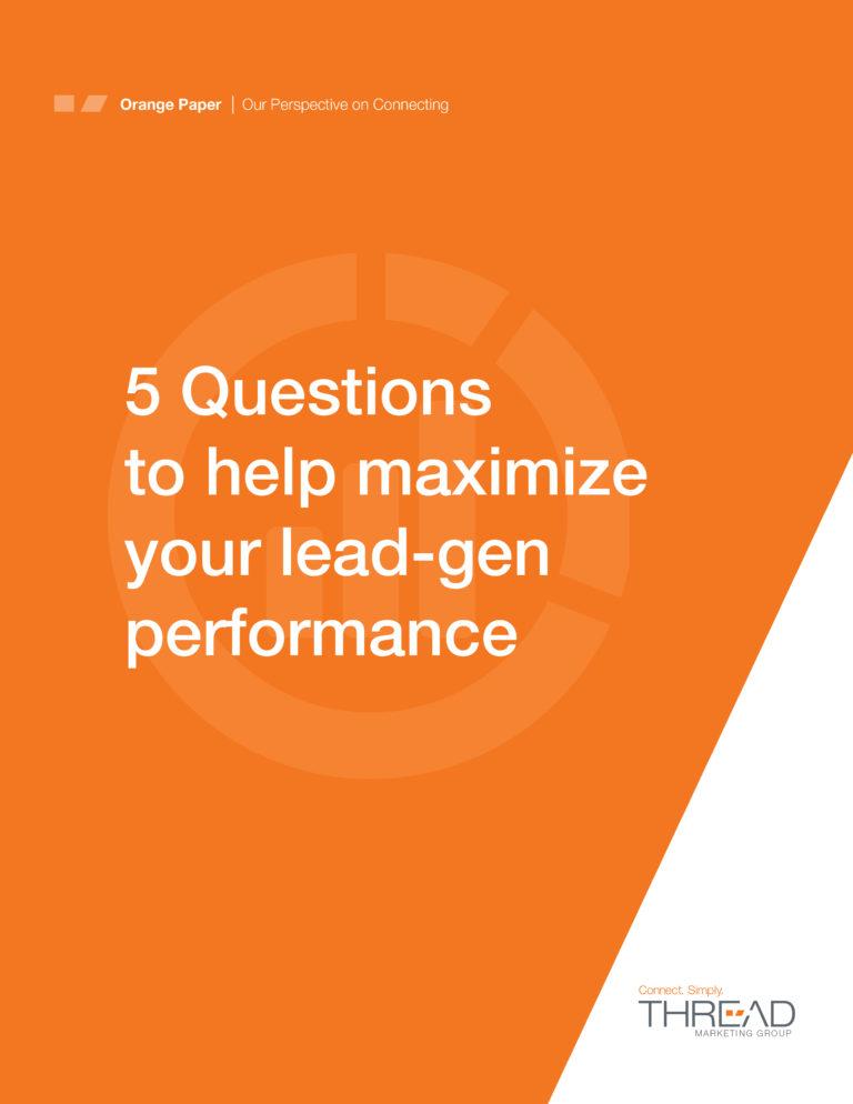 maximize lead generation